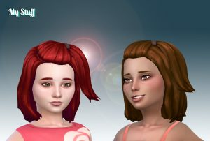 Melanie Hairstyle V2 for Girls