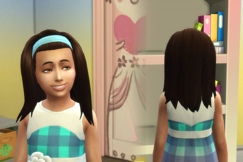 Frances Hairstyle for Girls
