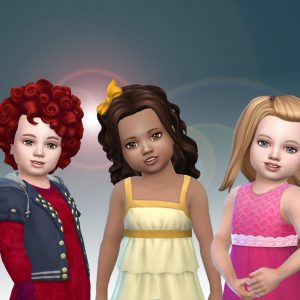 Toddlers Hair Pack 18
