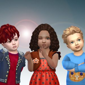Toddlers Hair Pack 19
