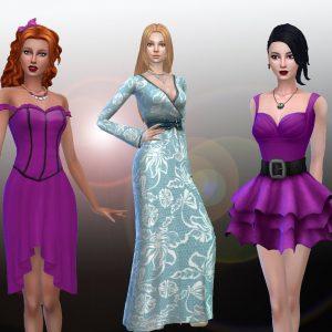 Female Dresses Pack 4
