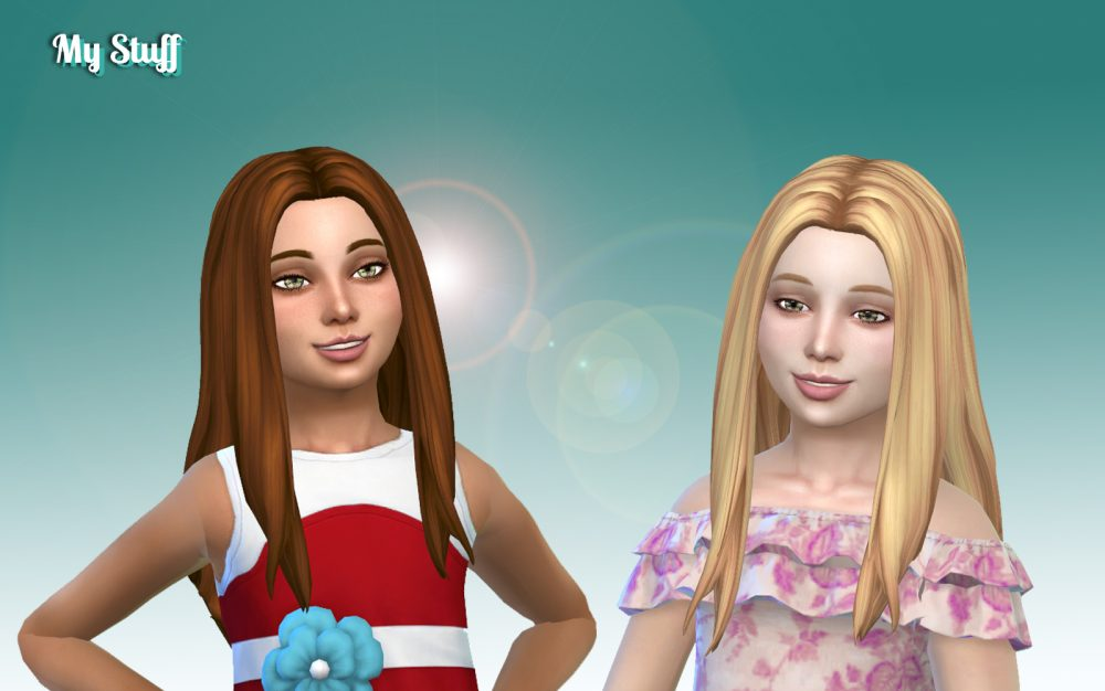 Liliana Hairstyle for Girls