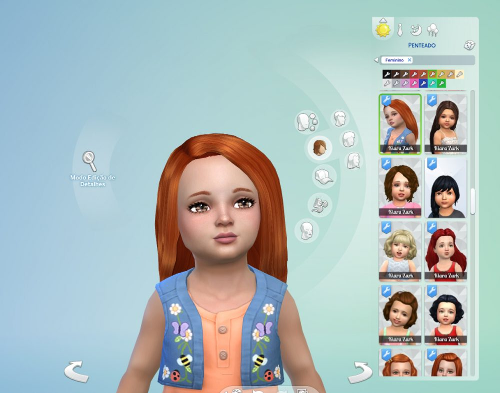 Intimate Hairstyle for Toddlers
