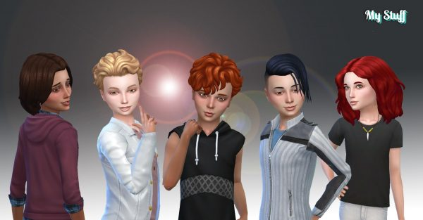 Boys Hair Pack 8