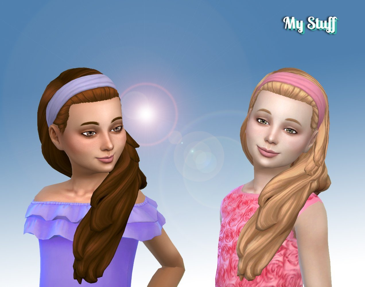 Livia Hairstyle for Girls
