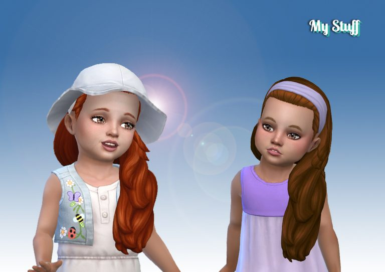 Livia Hairstyle for Toddlers 💕