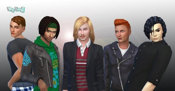 Male Hair Pack 6