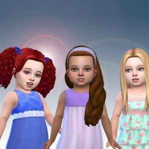 Toddlers Hair Pack 21