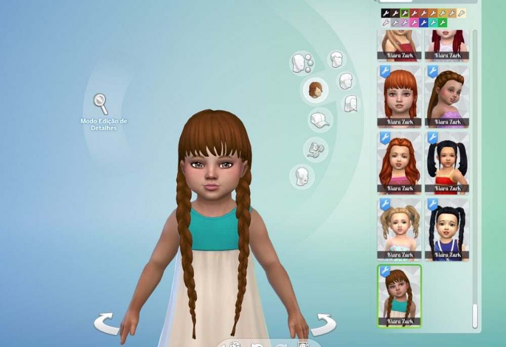 Maria Braids for Toddlers