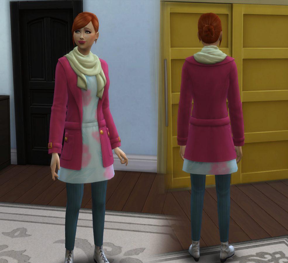Jacket Scarf Conversion