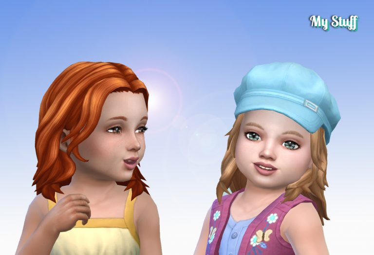Maya Hairstyle for Toddlers 💕
