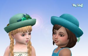 Straw Hat for Toddlers