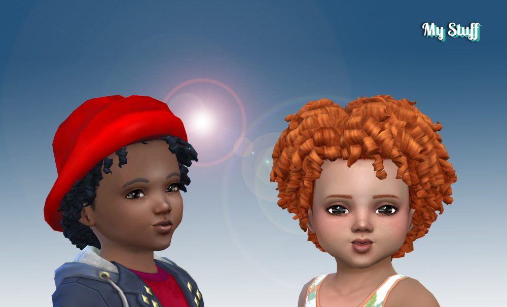 Tight Curls for Toddlers