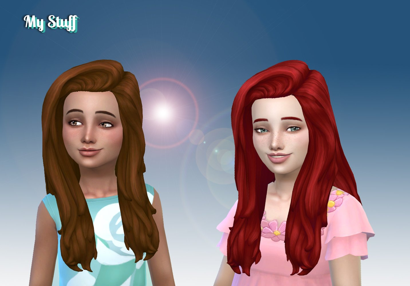 Francesca Hairstyle for Girls