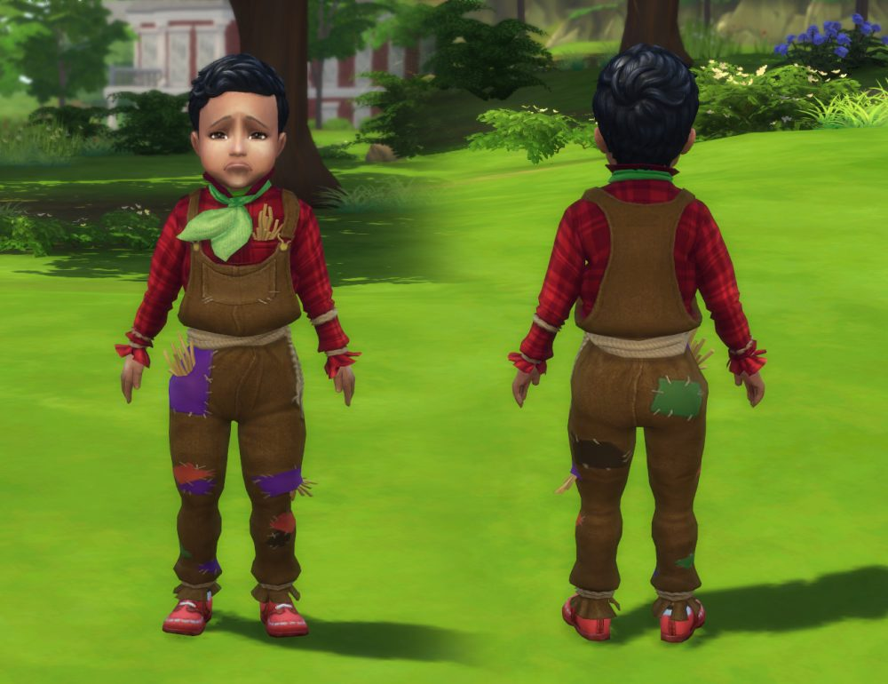 Scarecrow Clothes for Toddlers