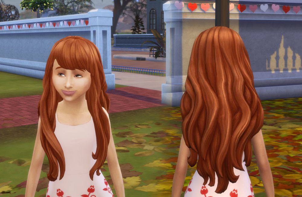 Nicole Hairstyle V2 for Girls