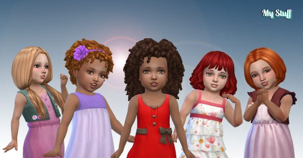 Toddlers Hair Pack 24