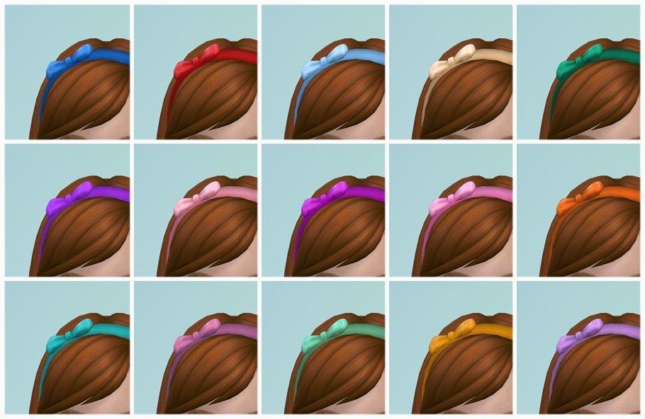 Margarida Bow Headband Recolor