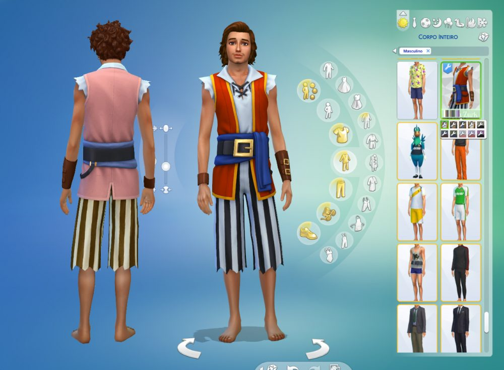 Pirate Outfit Conversion