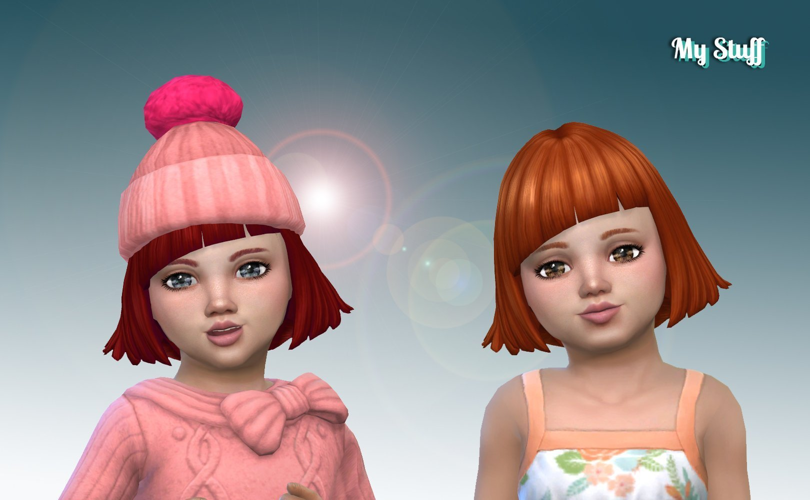 Chopped Bob for Toddlers