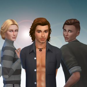 Male Hair Pack 7