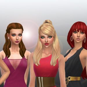 Female Long Hair Pack 20