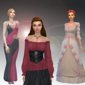Female Historical Clothes Pack 3