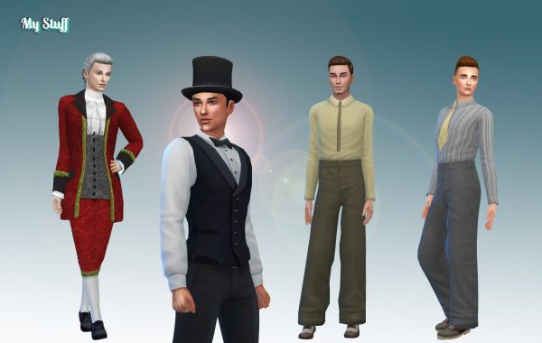 Male Historical Clothes Pack