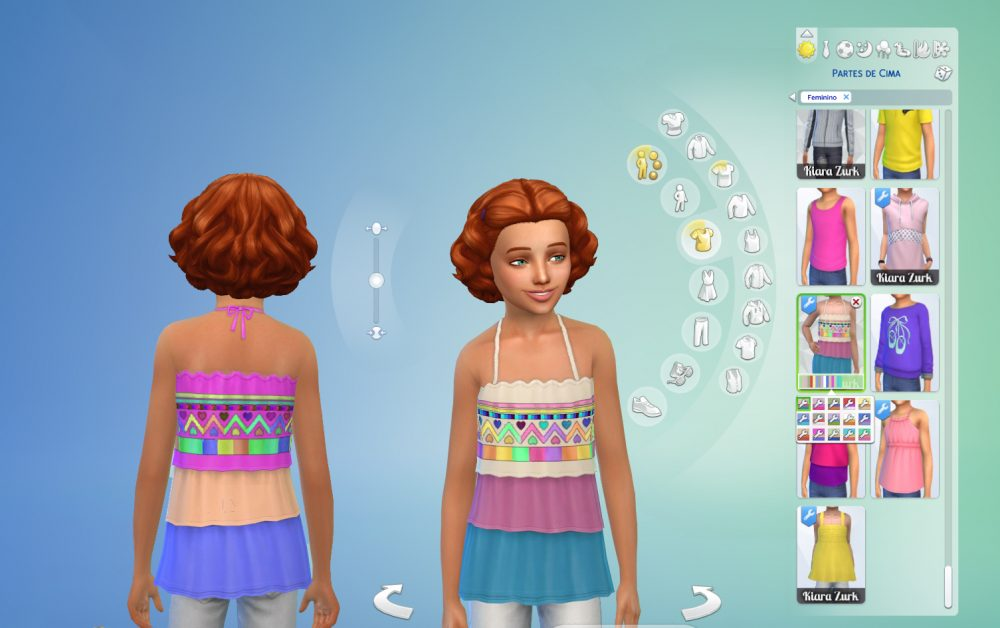 TS3 Ruffles Conversion