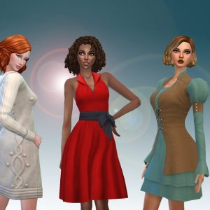 Female Dresses Pack 5