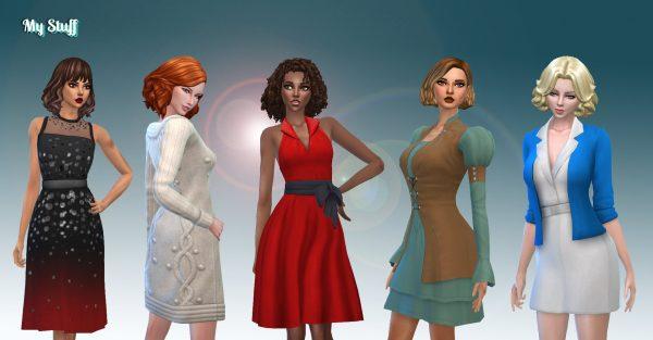 Female Dresses Pack 5