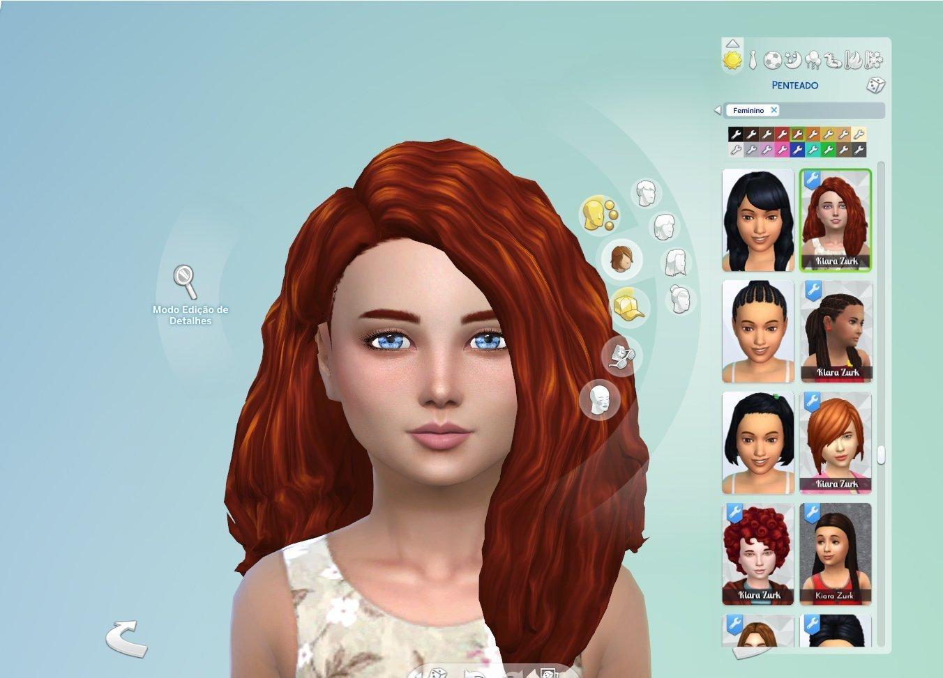 Scarlett Hair for Girls