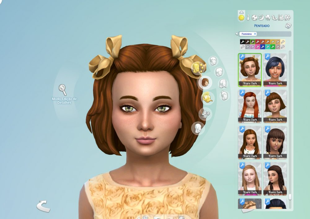 Mia Hairstyle for Girls