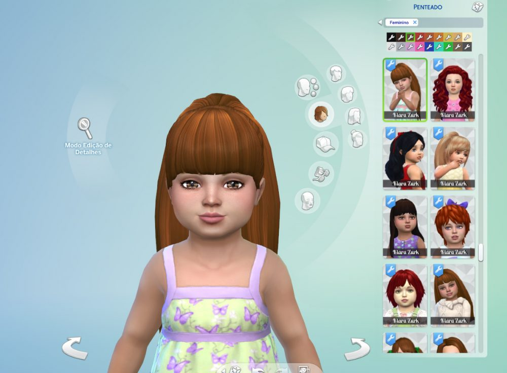 Ariana Ponytail for Toddlers