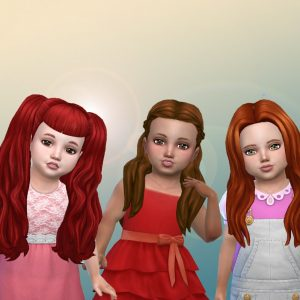 Toddlers Hair Pack 28