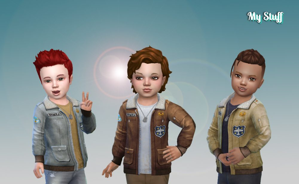 Jacket Aviator for Toddlers