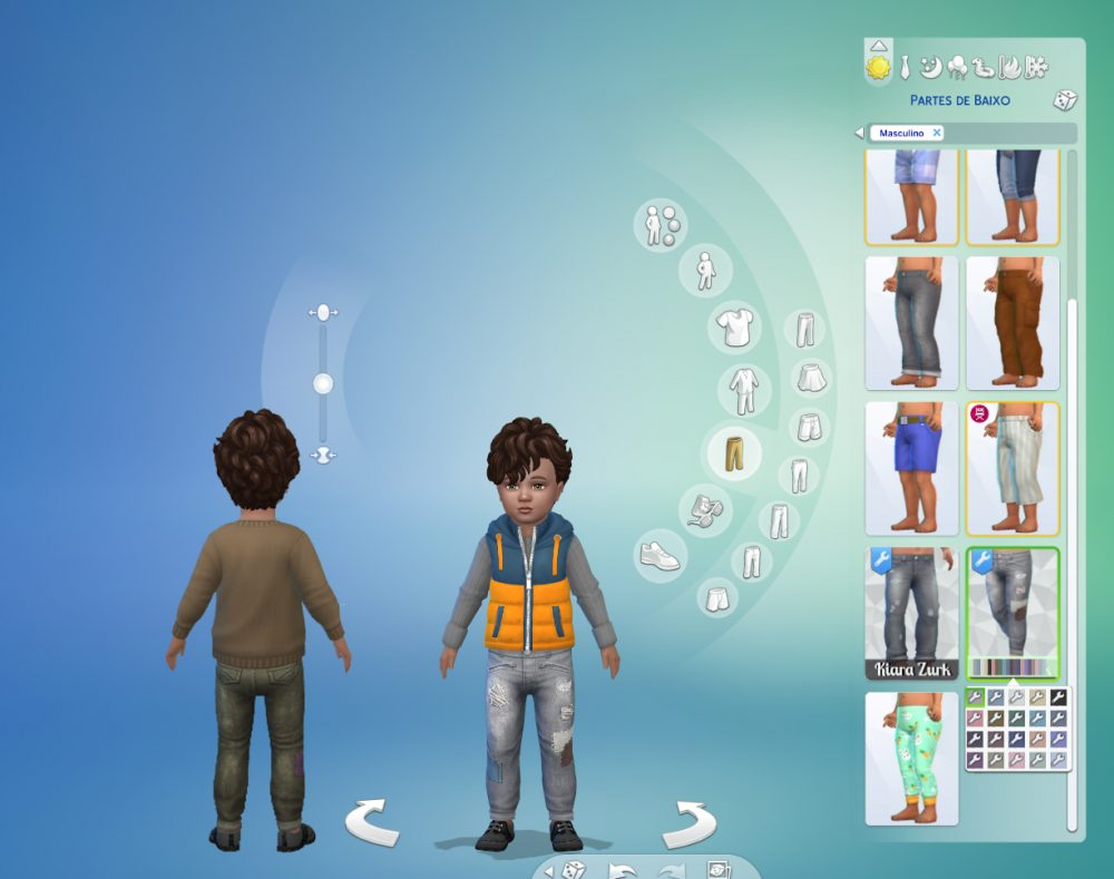 Pants Patched for Toddlers