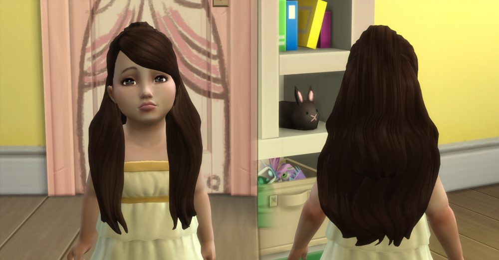 Prudence Hairstyle for Toddlers