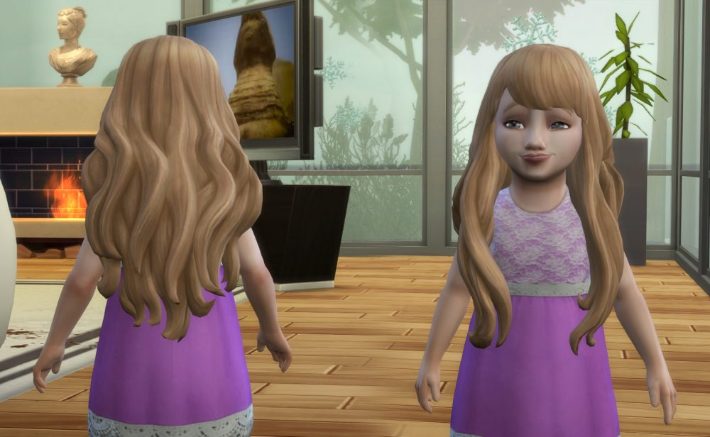 Nicole Hairstyle V2 for Toddlers