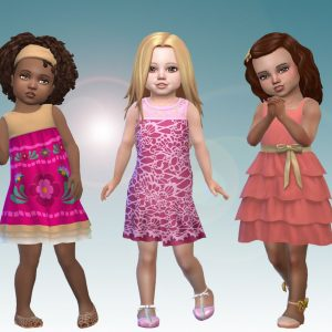 Toddlers Dresses Pack 2