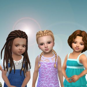 Toddlers Hair Pack 29