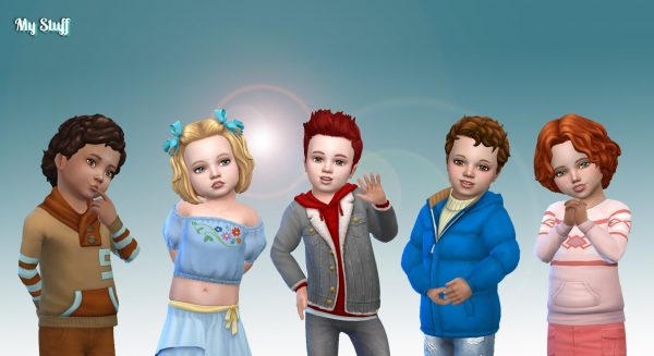 Toddlers Top Clothes Pack