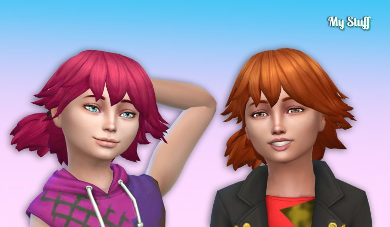 Alix Hairstyle for Girls