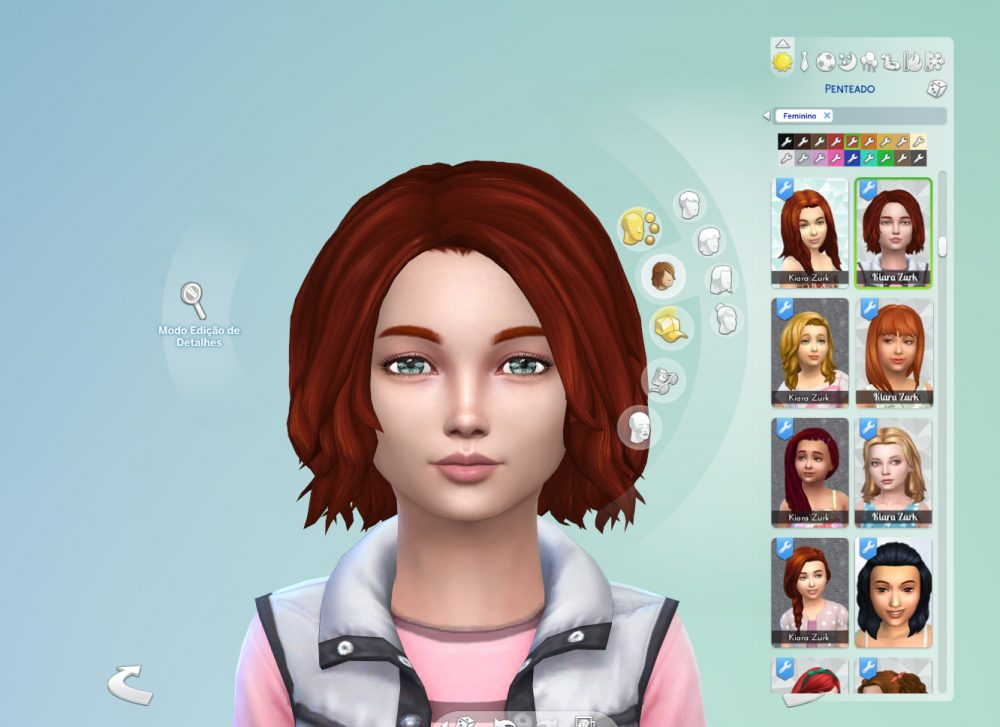 Victoria Hairstyle for Girls