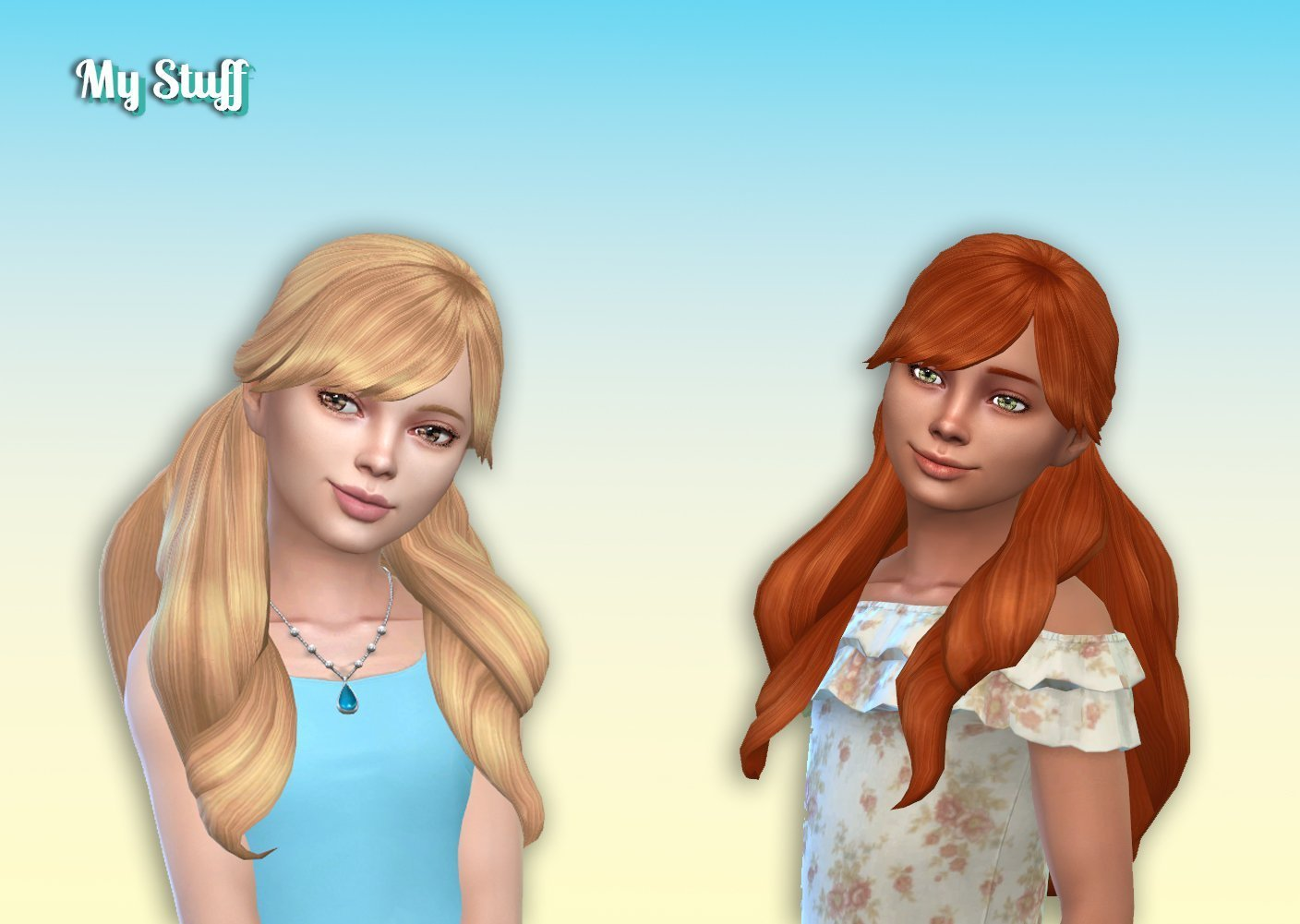 Florence Hairstyle for Girls