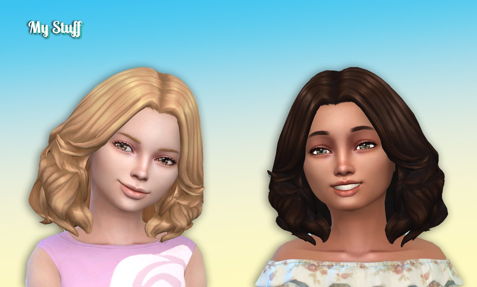 Felicia Hairstyle for Girls