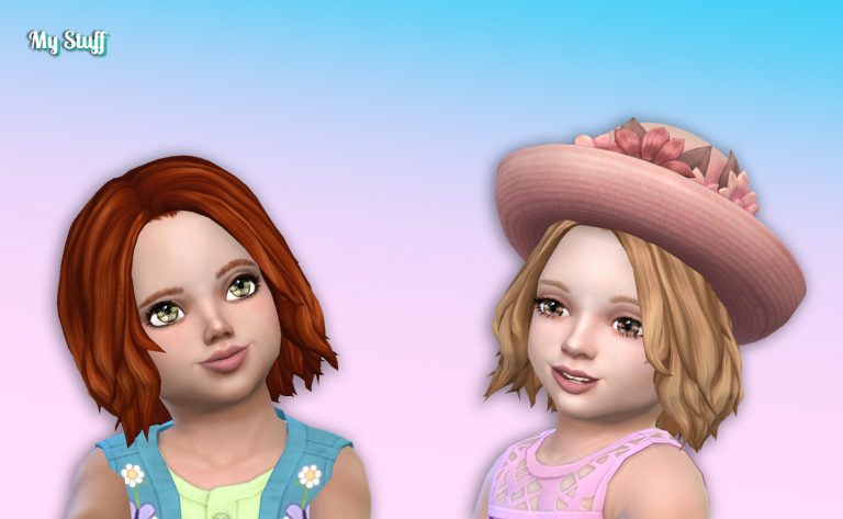 Victoria Hairstyle for Toddlers 💕