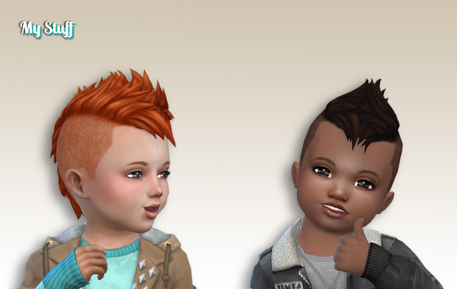 Undercut Mohawk for Toddlers