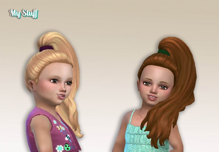 Jade Ponytail for Toddlers 💕