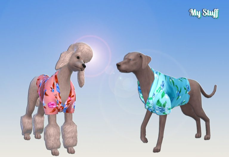 Hawaiian Shirt for Dogs 💕